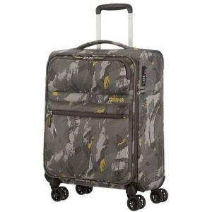 American Tourister kabinbőrönd Matchup 55/20 PRINT TSA 124710/L403 Camo Grey, 4 kerekű, textil