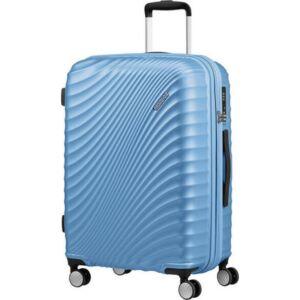 American Tourister bőrönd 77/2 Jetglam 77/28 bővíthető bőrönd 122818/8328 púderkék, 4 kerekű