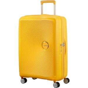 American Tourister bőrönd Soundbox spinner 67/24 Golden Yellow