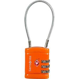 Samsonite biztonsági lakat travel accessor cablelock 3 dial tsa
