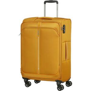 Samsonite bőrönd 66/24 exp Popsoda spinner 4 kerekű 123538/1924 Sárga