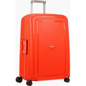 Samsonite bőrönd 75/28 S'CURE 4kerekű 75/28 52x75x31 SPINNER 49308/8929 flour red