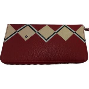 Samsonite Női bőr pénztárca SERAPHINA SLG, L ZIP AROUND Piros