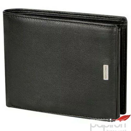 Samsonite pénztárca NYX 3 SLG 9CC+2HFL+ZIP+2C 103493/1041 Fekete
