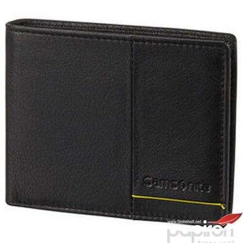 Samsonite pénztárca Outline 2 SLG 108666 fekete/lime
