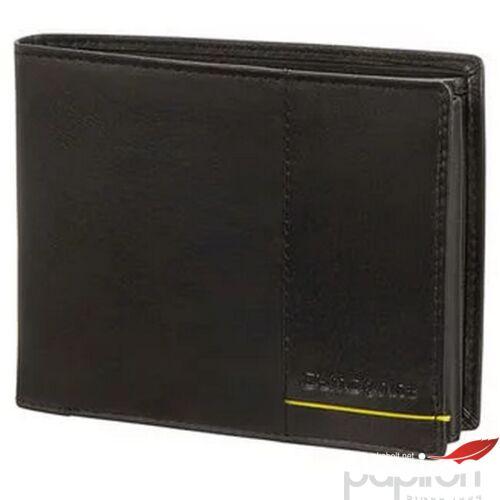 Samsonite pénztárca Outline 2 SLG 108667 fekete/lime
