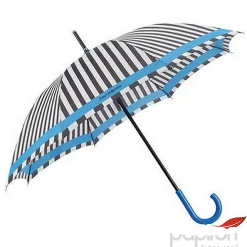 Samsonite esernyő R-Pattern STICK Umbrella 108947/7194 Fekete/fehér csíkok/világosk