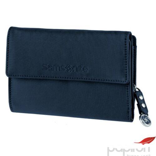 Samsonite pénztárca Női Move II SLG DARK BLUE L WALLET 12kártya zipzáraszáros M