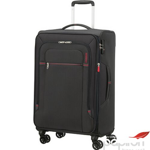 American Tourister bőrönd Crosstrack spinner 67/24 Tsa Exp 133190/2645 Grey/Red
