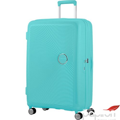American Tourister bőrönd Soundbox Spinner 77/28 Poolside Blue