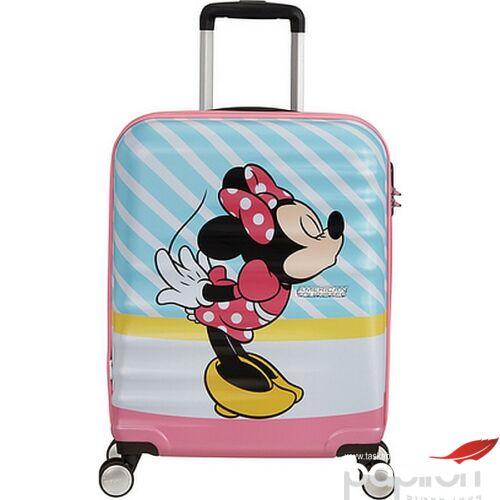 American Tourister bőrönd Wavebreaker Disney SPIN 55/20 85667/8623 Minnie Pink Kiss