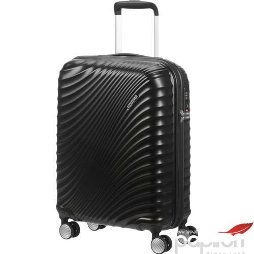 American Tourister kabinbőrönd Jetglam spinner 55/20 122816/2368 Metallic Black - Metál Feket