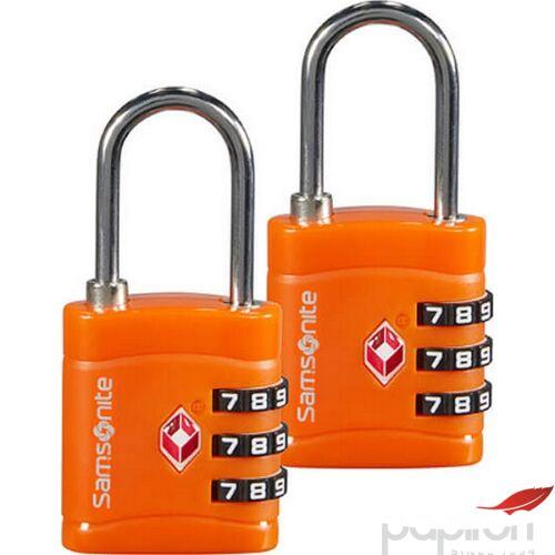 Samsonite biztonsági lakat Travell Accessor combilock 3 dial tsa x2 121299/1641 Narancs