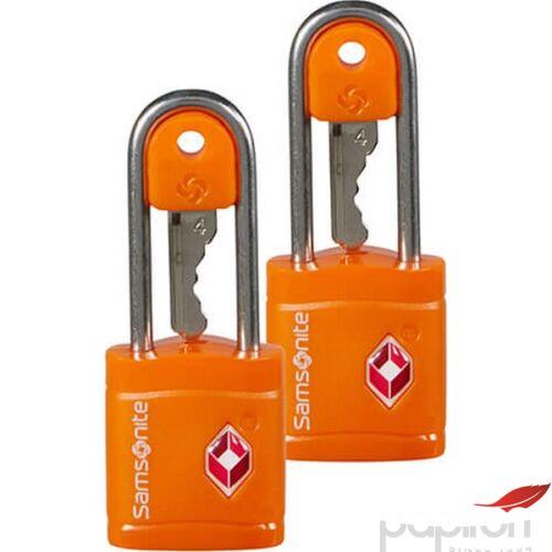 Samsonite biztonsági lakat Travell Accessor key lock tsa x2 121294/1641 Narancs