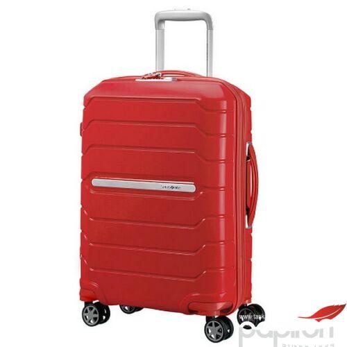 Samsonite bőrönd 55/20 exp Flux spinner 4 kerekű 88537/1726 Piros