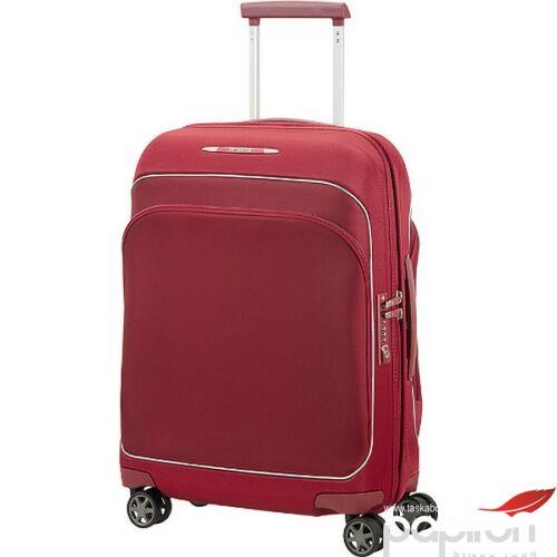 Samsonite bőrönd 55/20 kabin Fuze 40x55x20 2,4kg 35L 87517/6118 borvörös