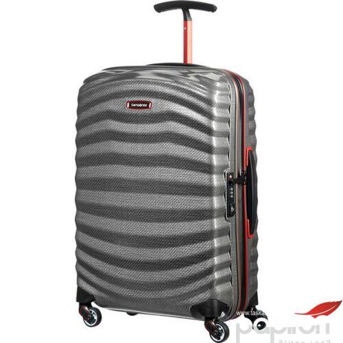 Samsonite bőrönd 55/20 Lite-Shock Sport spinner 55/20 105262/6834-Eclipse Grey/Red