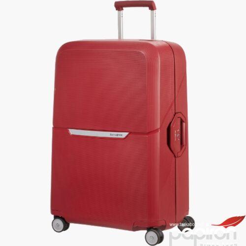 Samsonite bőrönd 55/20 MAGNUM SPINNER rust red 109504/7222