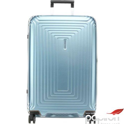 Samsonite bőrönd 55/20 Neopulse spinner 4 kerekű 105646/5344 matt Jégkék 5 év garancia