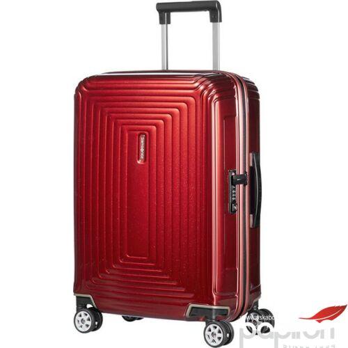 Samsonite bőrönd 55/20 Neopulse spinner 4 kerekű 105646/1544 Metálpiros 5 év garancia