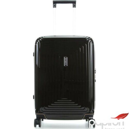 Samsonite bőrönd 55/20 Neopulse spinner 4 kerekű 105646/2368 Metálfekete 5 év garancia