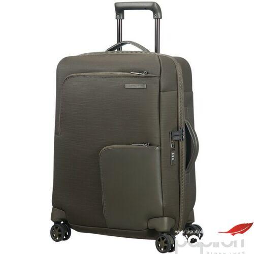Samsonite bőrönd 55/22 Memphis 40x55x22/25 2.6kg 42/47L 85452/1633 olíva