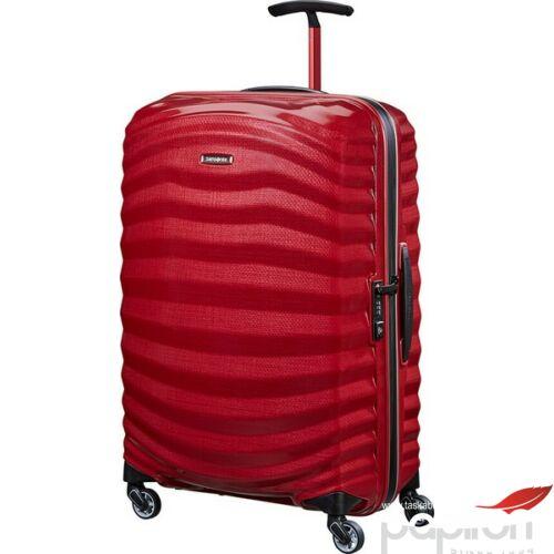 Samsonite bőrönd 69/25 Lite-Shock Sport spinner 69/25 105264/4050-Bright Red/Silver