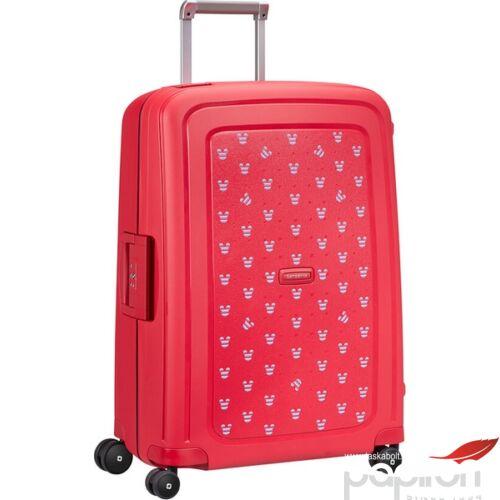 Samsonite bőrönd 69/25 S'Cure Disney spinner 4 kerekű 122709/7956 Mickey nyári piros