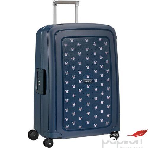 Samsonite bőrönd 69/25 S'Cure Disney spinner 4 kerekű 122709/7957 Mickey nyári tengerkék
