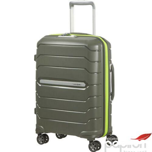 Samsonite bőrönd 75/28 Flux 4kerekű bővíthető 88539/1266 Sötét Oliva 5 év garancia