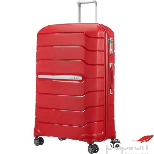 Samsonite bőrönd 75/28 Flux spinner 75/28 EXP 4kerekű bővíthető 88539/6546 gránátvörös - Granita Red