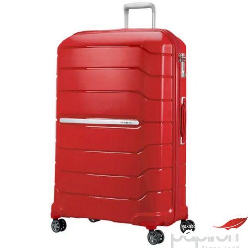 Samsonite bőrönd 81/30 exp Flux spinner 4 kerekű 88540/1726 Piros