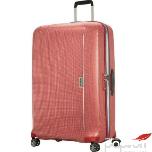 Samsonite bőrönd 81/30 Mixmesh 54x81x34 4,8kg 4kerekű 106748/7085 piros/ óceánkék