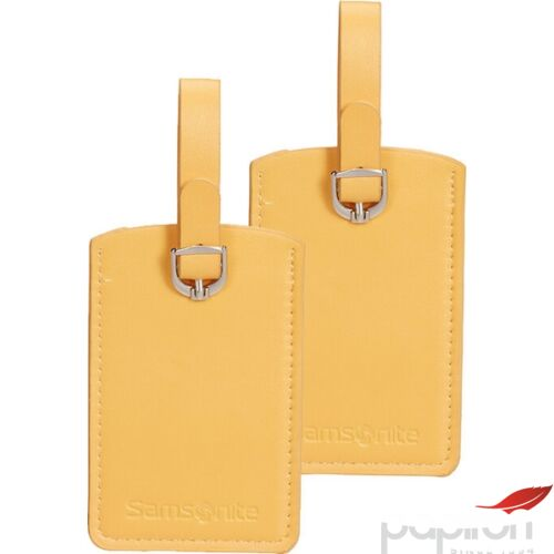 Samsonite bőröndcímke rectangle Luggage tag x2 121307/2022 Napraforgó