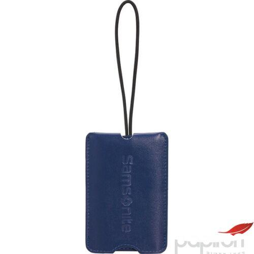 Samsonite bőröndcímke secure Luggage tag 122293/1549 Éjkék