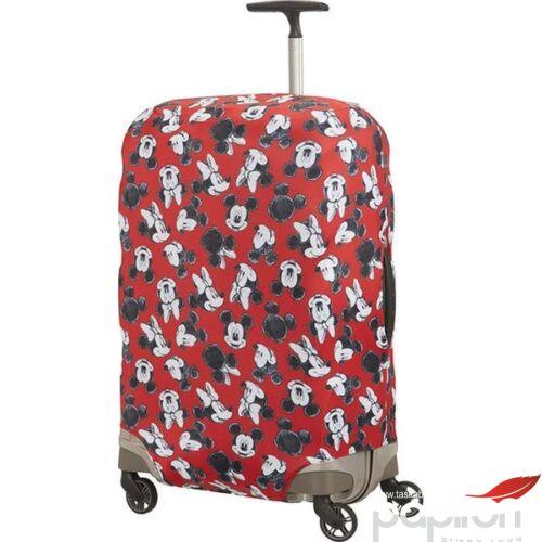 Samsonite bőröndhuzat M GLOBAL TA Disney LYCRA COVER M 122306/7924 Mickey/Minnie Red