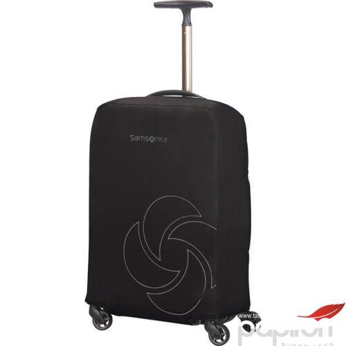 Samsonite bőröndhuzat S foldable Luggage cover 121225/1041 Fekete