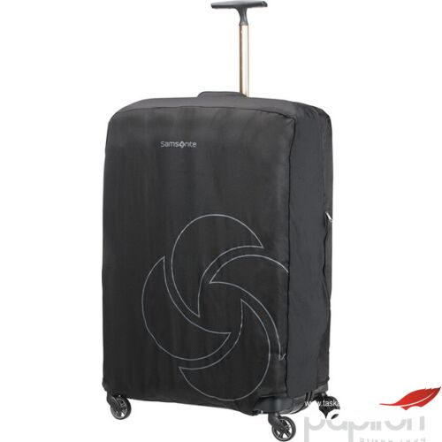 Samsonite bőröndhuzat XL foldable Luggage cover 121220/1041 Fekete