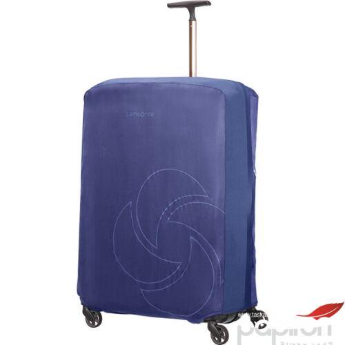 Samsonite bőröndhuzat XL foldable Luggage cover 121220/1549 Éjkék