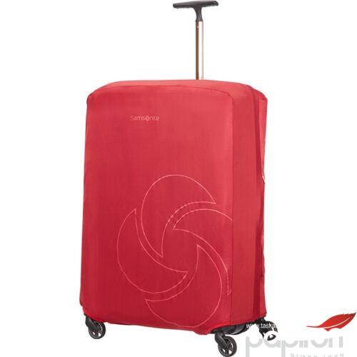 Samsonite bőröndhuzat XL foldable Luggage cover 121220/1726 Piros