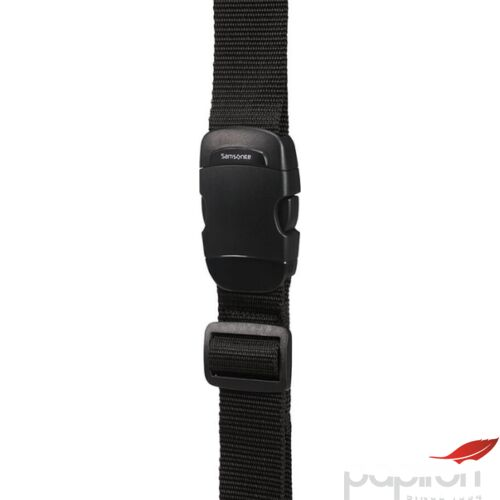 Samsonite bőröndszíj Luggage strap 38mm 121311/1041 Fekete