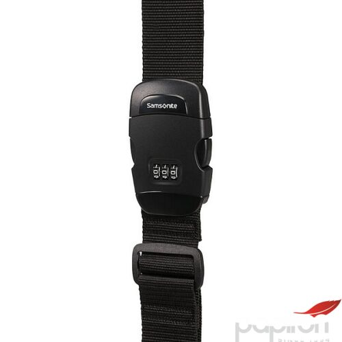 Samsonite bőröndszíj Luggage strap/lock 121314/1041 Fekete