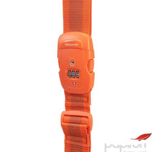 Samsonite bőröndszíj Luggage strap/tsa lock 121313/1641 Narancs