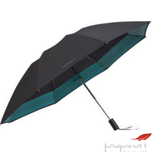 Samsonite esernyő automata Up way safe 3 sect. auto o/c 108945/4288 Fekete/tengerzöld