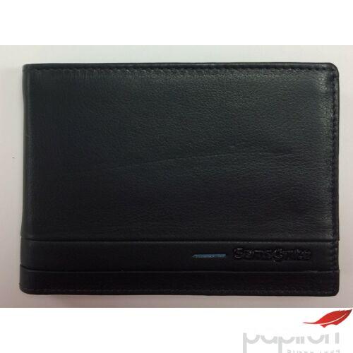 Samsonite pénztárca férfi bőr Outline SLG 13x9,5x1,5 66864/5299 sötétkék/világoskék