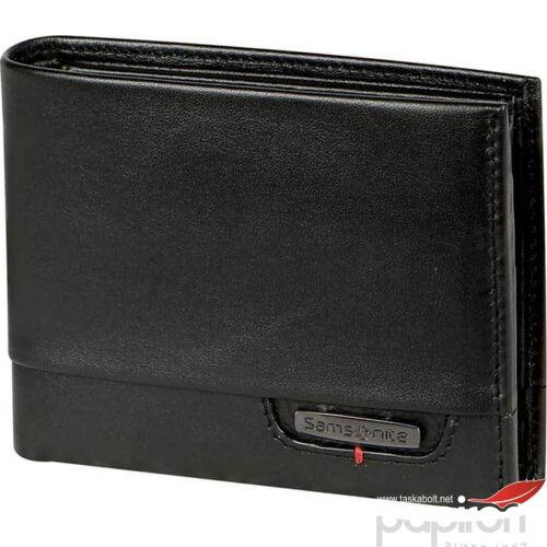 Samsonite pénztárca férfi bőr PRO-DLX 4S SLG B 7CC+HFL+COMP+C BLACK 103501/1041 Black fekete