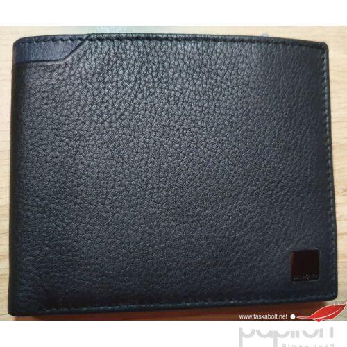 Samsonite Férfi bőr pénztárca SENZIL SLG/015 - B 4CC+2C+C fekete-kék