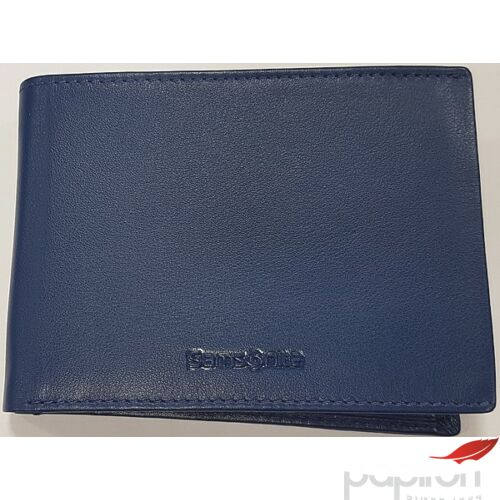 Samsonite pénztárca férfi bőr Success SLG 007 BILLF 7CC+VFL+C+2C+W 60322/6704 - Iris Blue 13x1,5x9,6cm
