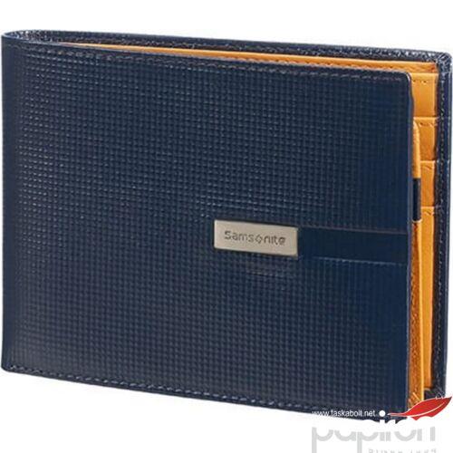 Samsonite pénztárca férfi bőr TINT SLG B 7CC+VFL+C+2C+W 108482/1090 - Blue Kék 9.6x13x1