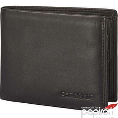 Samsonite pénztárca férfi Attack 2 Slg 021 - B S 4Cc+Vfl+C+2C 124000/1041-Black